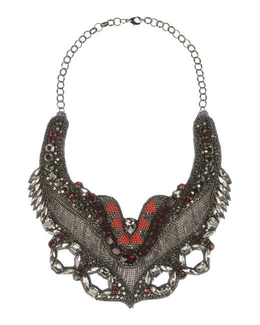 Deepa Gurnani   Gray Necklace   Lyst