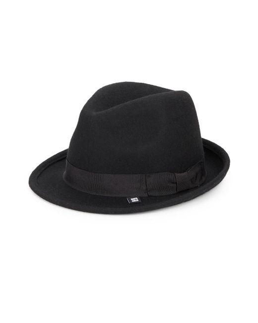 Block Headwear | Black Wool Fedora | Lyst