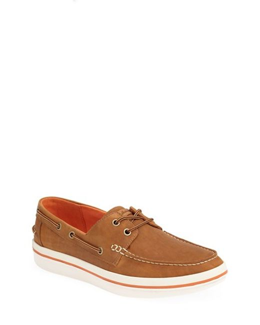 Tommy Bahama | Brown 'relaxology Collection - Rester' Boat Shoe for Men | Lyst