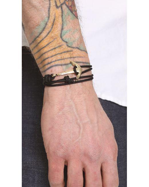 Miansai   Metallic Anchor Rope Wrap Bracelet for Men   Lyst