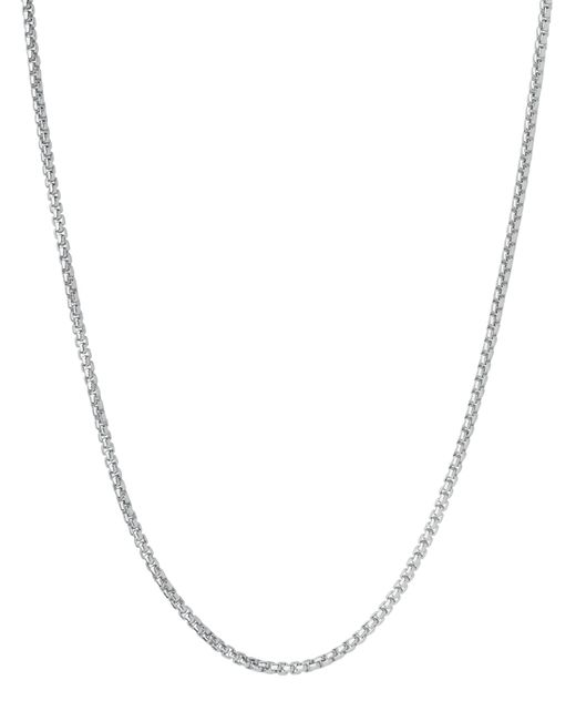 Links of London | Metallic Sterling Silver 1.2mm 45cm Cable Chain Necklace | Lyst