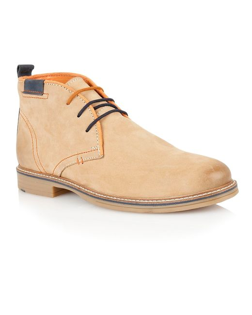 Lotus | Natural Holbeton Lace Up Casual Desert Boots for Men | Lyst