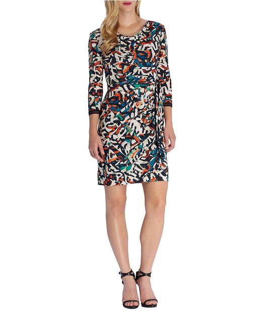 deep v plus length dress