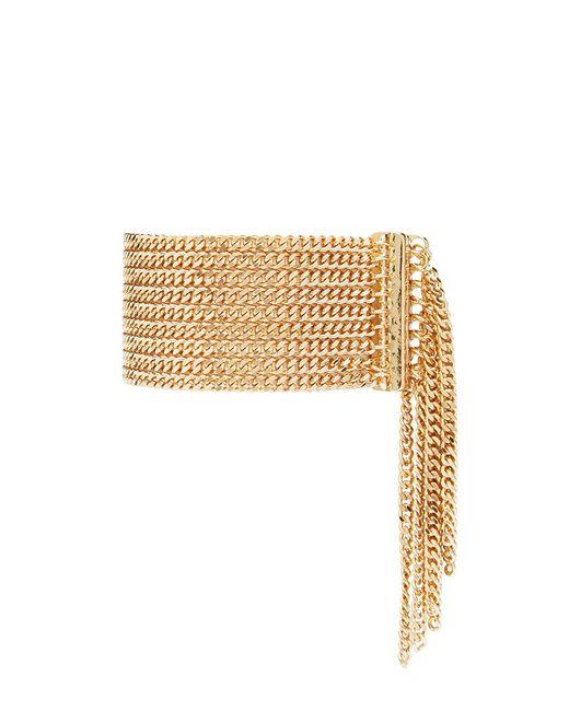 Forever 21 | Metallic Fringed Chain Bracelet | Lyst