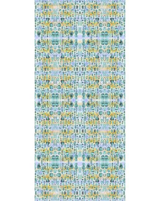 Kekkai | Blue Ancient Reflections 2 Cashmere Blend Scarf | Lyst