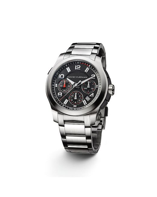 David Yurman | Metallic Revolution 43.5mm Chronograph Watch for Men | Lyst
