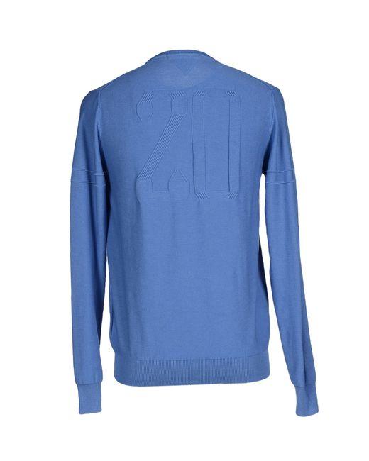 pepe jeans sweater in blue for men pastel blue lyst. Black Bedroom Furniture Sets. Home Design Ideas