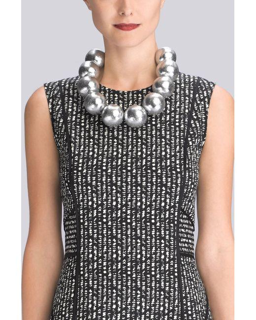 Natori | Metallic Acacia Wood Necklace | Lyst