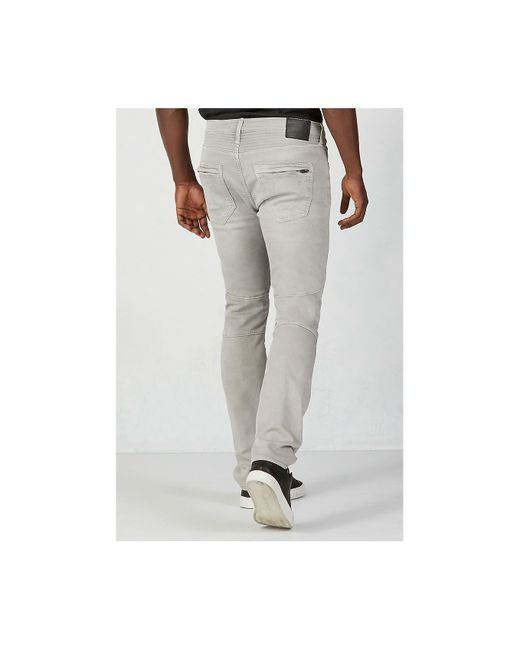 True Religion | Gray Rocco Active Moto Mens Pant for Men | Lyst