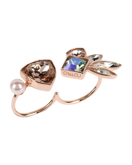 Ca&Lou | Pink Ring | Lyst