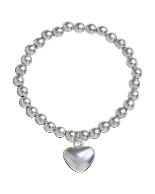 John Lewis | Metallic Georgie Bead Heart Bracelet | Lyst