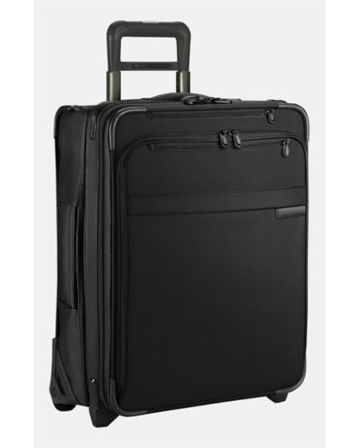Briggs & Riley | Black 'baseline' International Expandable Rolling Carry-on for Men | Lyst
