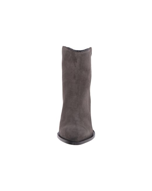 VINCE | Gray Erving Suede Ankle Boots | Lyst