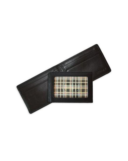 Boconi | Black Leather Money Clip Wallet for Men | Lyst