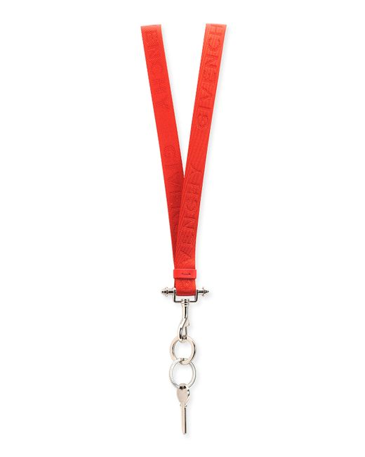 Givenchy | Red Lanyard Key Ring Necklace for Men | Lyst