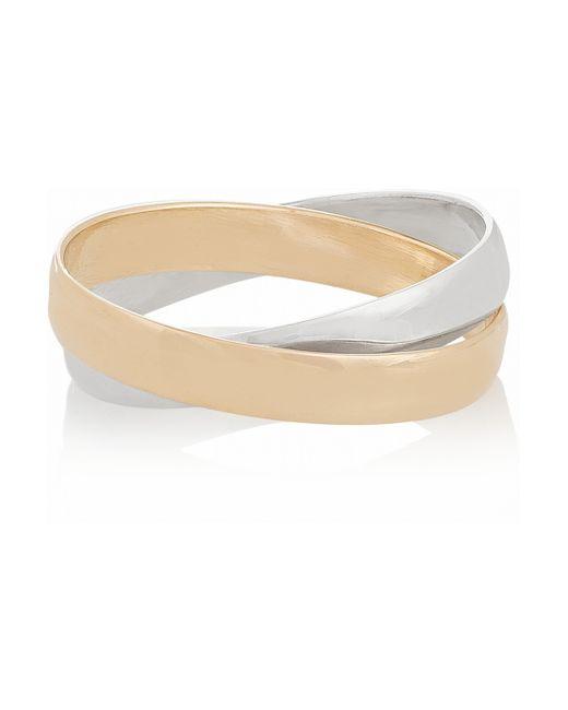 Inez & Vinoodh | Metallic 18-karat Rose Gold And Sterling Silver Interlinked Rings | Lyst