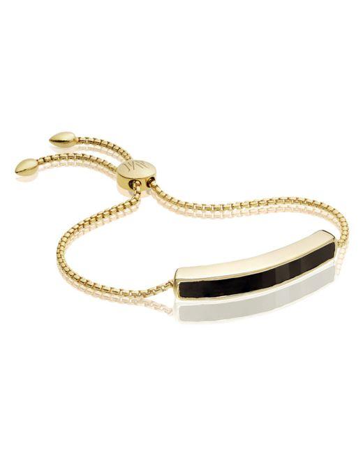 Monica Vinader   Black Baja Bracelet   Lyst