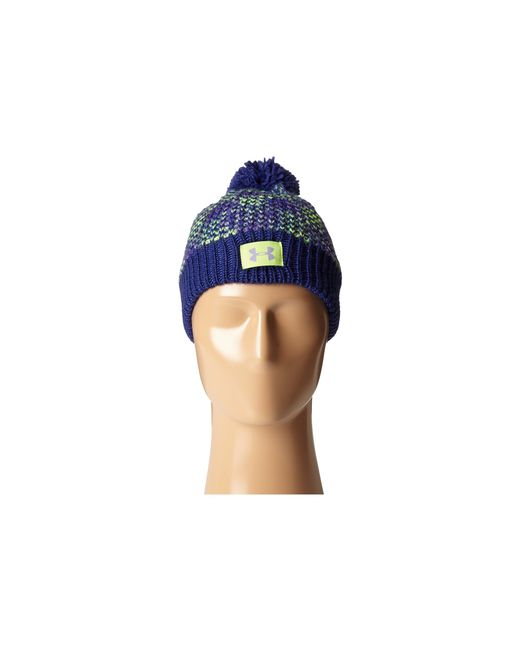 Under Armour | Purple Ua Speckle Beanie (youth) | Lyst