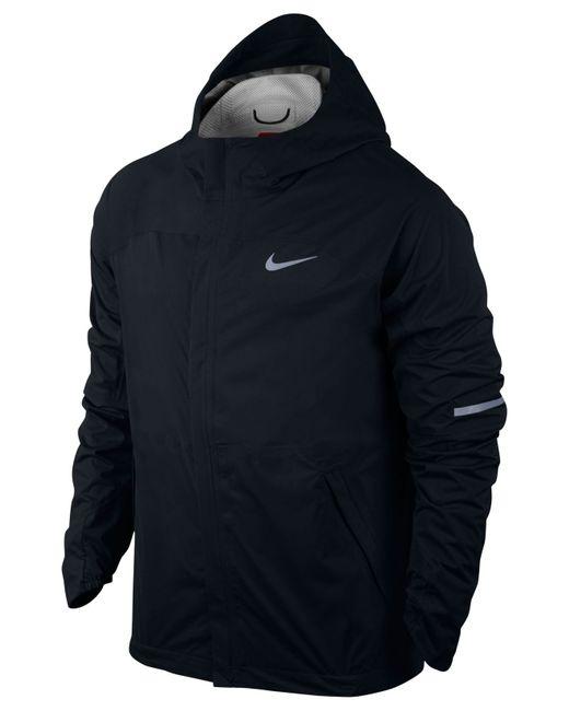 Nike Men S Shieldrunner Storm Fit Jacket In Black For Men