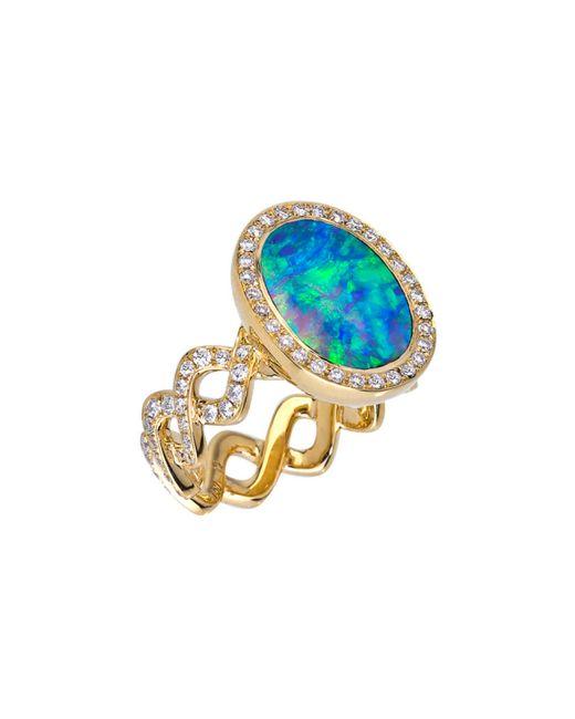 Katherine Jetter | Blue Twisting Vine Ring | Lyst