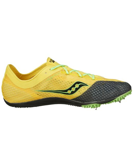 Saucony Endorphin In Yellow For Men Yellow Black Slime