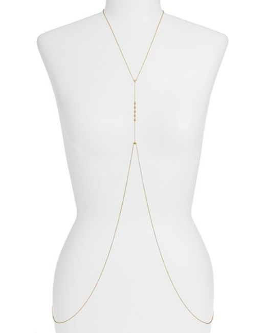 Gorjana | Metallic 'bali' Body Chain | Lyst