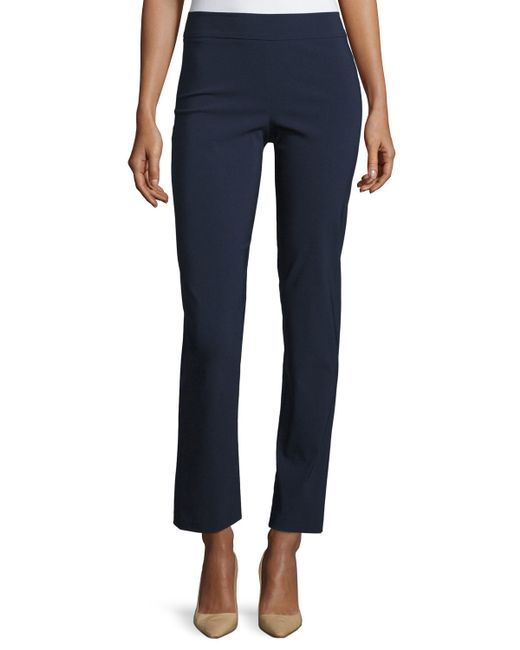 Avenue Montaigne | Blue Billy Straight-leg Pants | Lyst