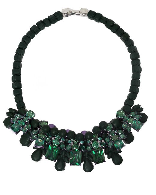 EK Thongprasert | Green Croise Necklace | Lyst