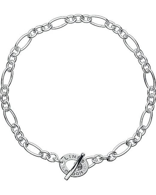 Links of London | Metallic Signature Xs Charm Bracelet | Lyst