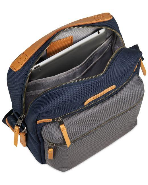 Tumi Dalston Amhurst Crossbody Bag In Blue For Men Navy