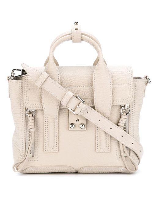 3.1 Phillip Lim | White Mini Pashli Leather Shoulder Bag | Lyst