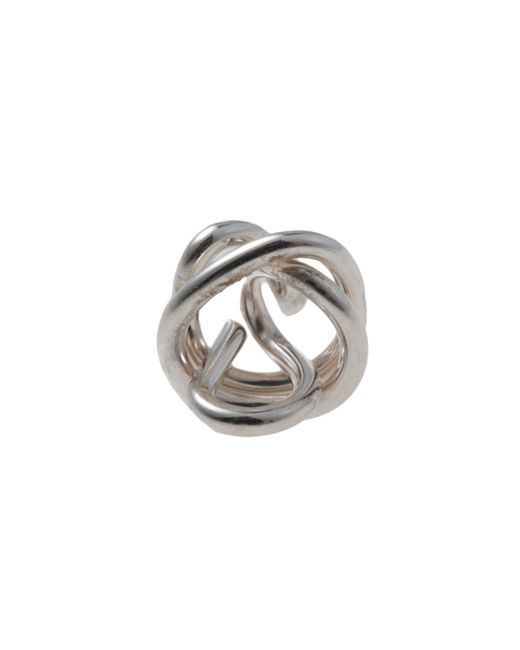 Garnish | Metallic Knot Stud | Lyst