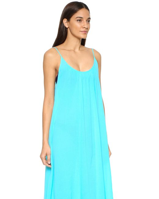 9seed Tulum Cover Up Dress in Blue (Ocean) - Save 30% | Lyst