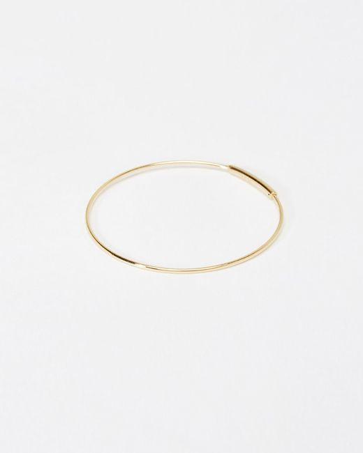 Kathleen Whitaker | Metallic Small Hoop Earring | Lyst