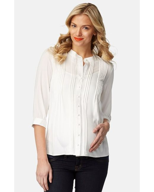 Keep on looking smart during your pregnancy with Mothercare's range of maternity shirts & blouses, perfect for work. All Mothercare's maternity clothing has been designed with you and your bump in mind. Shop online today & get free delivery when you spend £
