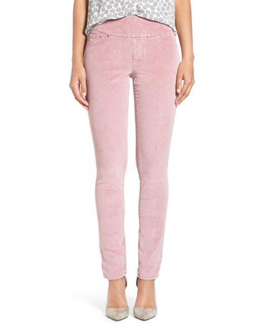 Jag Jeans | Pink Nora Skinny Corduroy Pants | Lyst