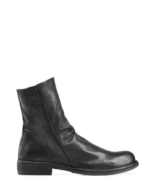 Officine Creative | Leather Ankle Boots - Black for Men | Lyst