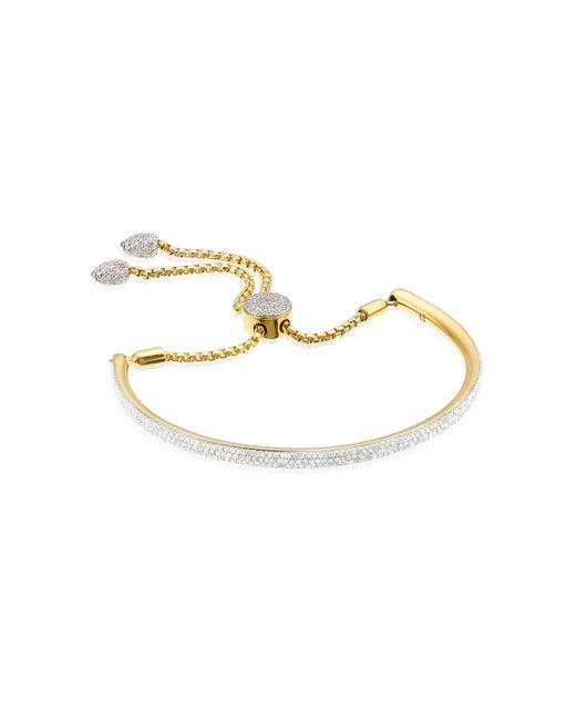 Monica Vinader | Metallic Fiji Full Diamond Bracelet | Lyst