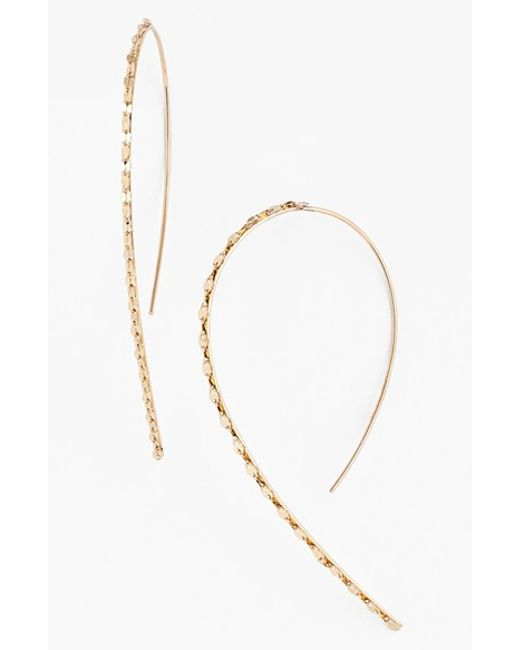 Lana Jewelry | Yellow 'glam' Small Hooked-on Hoop Earrings | Lyst