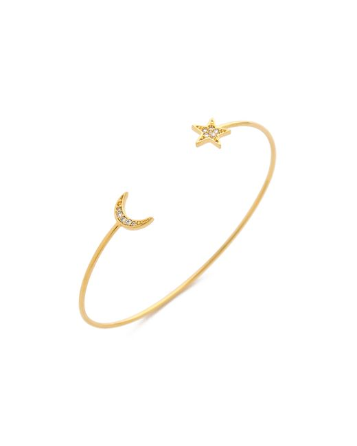 Tai | Metallic Star & Moon Bangle Bracelet | Lyst