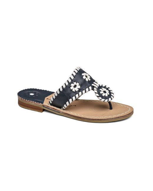 Jack Rogers | Black Girls' Palm Beach Miss Sandal | Lyst