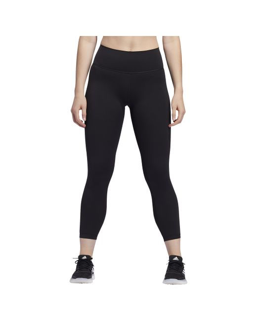Adidas Black Believe This 7/8 Tights