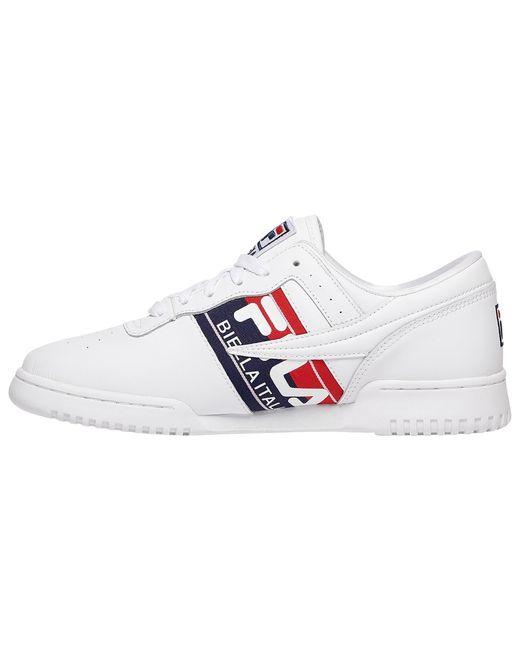 Men's White Original Fitness Italia Training Shoes