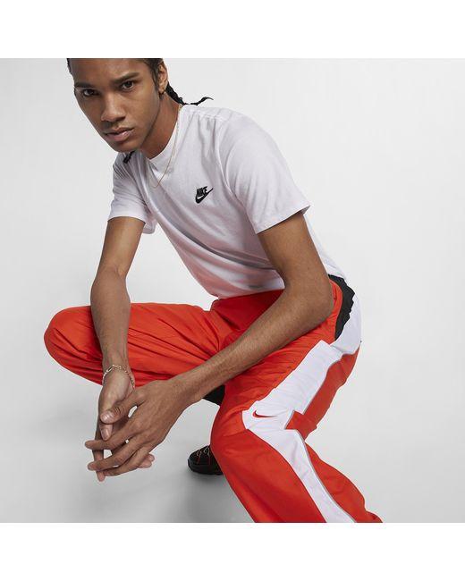 Nike Orange Lab Collection Tn Tracksuit Bottoms for men