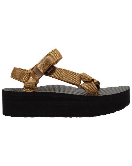 Teva Metallic 'universal' Flatform Sandal