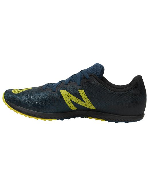 Men's Blue Xc Seven V2 Covered Spikes