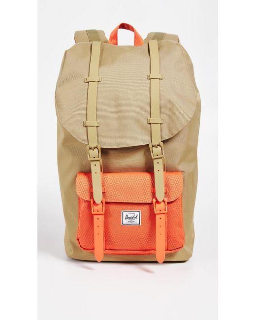 Herschel Supply Co. - Multicolor Little America Backpack for Men - Lyst ... 646b841954