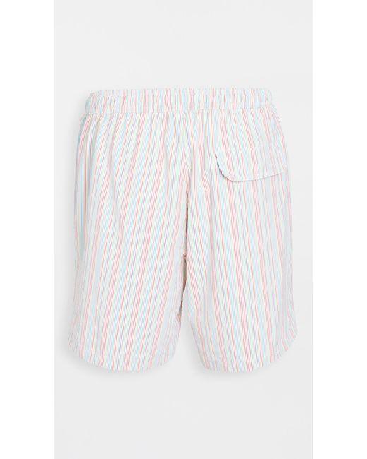 Onia White Calder Trunks 7.5 E for men