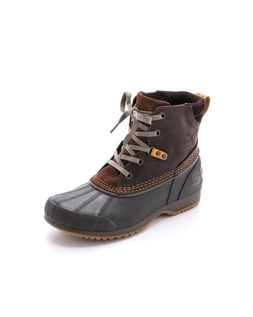 Sorel | Brown Ankeny Boots for Men | Lyst