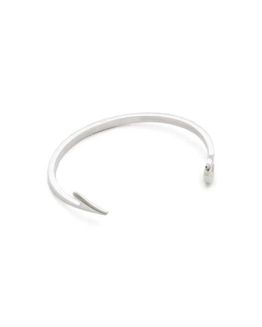 Miansai | Metallic Fishing Hook Cuff for Men | Lyst